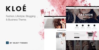 Kloe - Fashion & Lifestyle Multi-Purpose Theme by Select ...