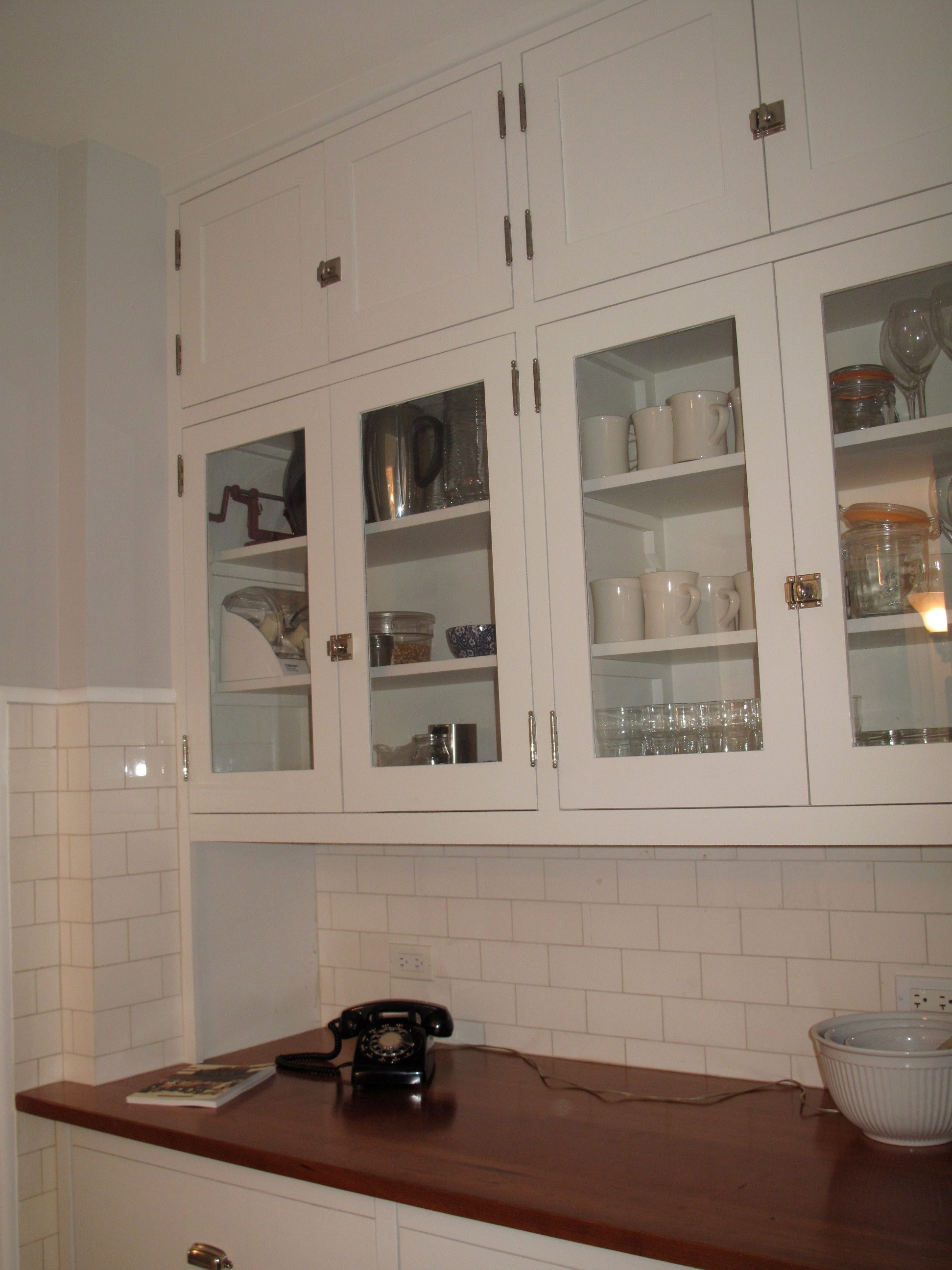 s colonial revival kitchen test colonial kitchen sink Malley kitchen cherry counter area