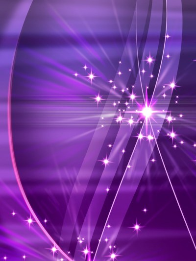 3D/Abstract - Simply Violet Sparks 3D Wallpapers - iPad iPhone HD Wallpaper Free