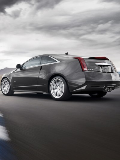 Cars - Cadillac CTS-V Coupe 2011 - iPad iPhone HD Wallpaper Free