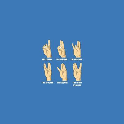 Fun/Humor - Hand Signs Meaning - iPad iPhone HD Wallpaper Free