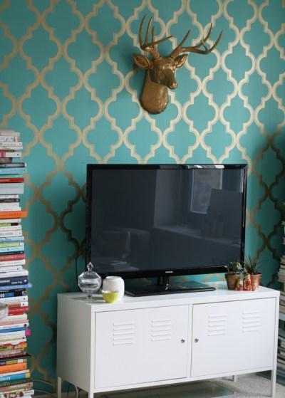 DIY // Removable Wallpaper