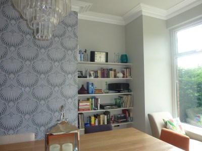 Farrow and Ball wallpaper | Making a house our home