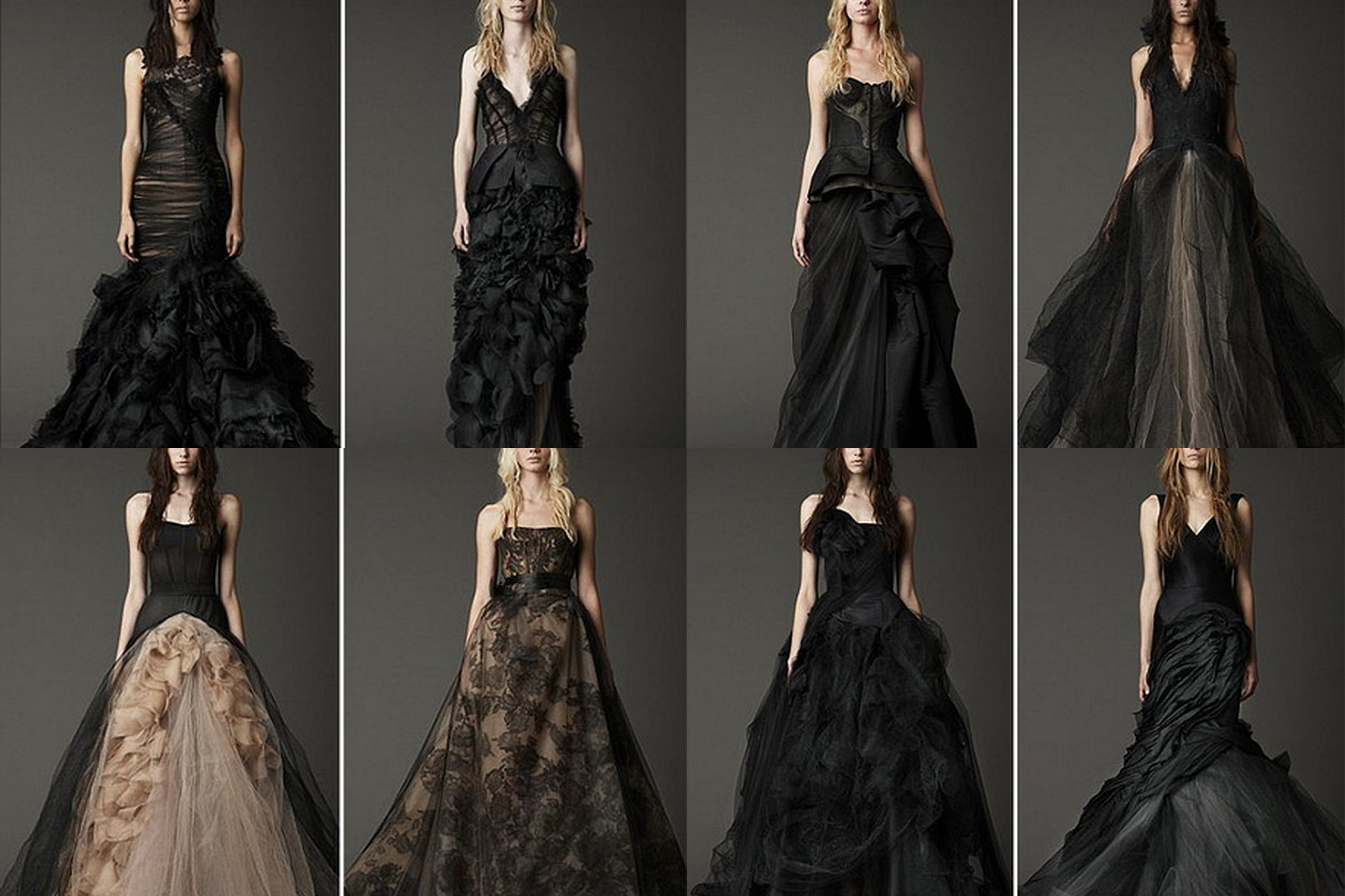 couture or costume the black wedding dress 4 cheap black wedding dresses Image Image
