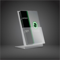 Acrylic Brochure Holder   Manufacturers  Suppliers   Traders Acrylic Brochure Holder Cross