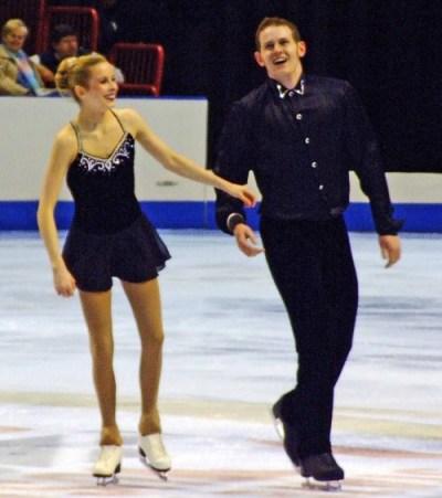 Figure Skating Costumes - Bridget Namiotka and John Coughlin's Summertime...