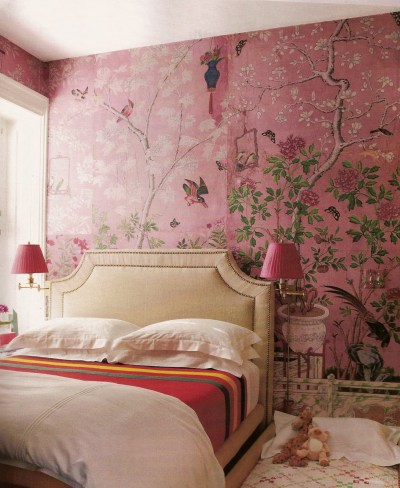 It's Three Thirty   De Gournay Wallcoverings and a look a like!