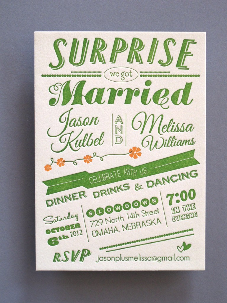 thomas printers affordable letterpress photo wedding invitations This is a paid post from an APW Sponsor