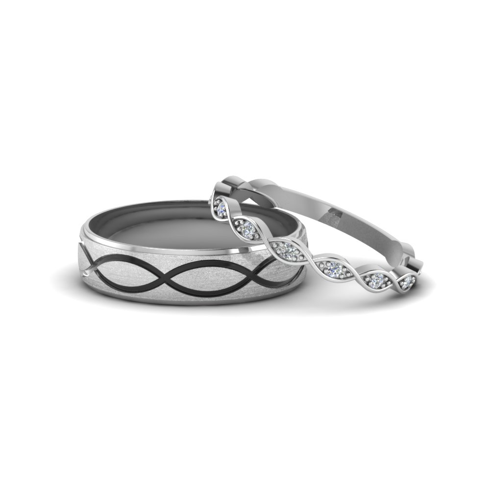 infinity diamond wedding band to Great to own a Ray Ban sunglasses as summer gift Infinity band would go beautifully with a solitaire engagement ring or by itself as an anniversary