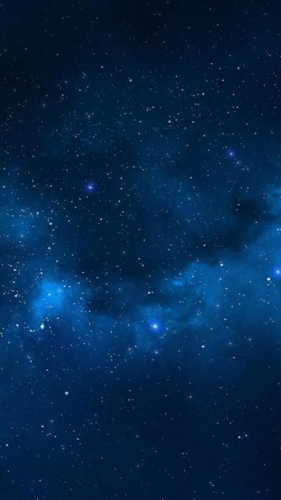 Iphone Blue Stars Wallpaper   2019 3D iPhone Wallpaper
