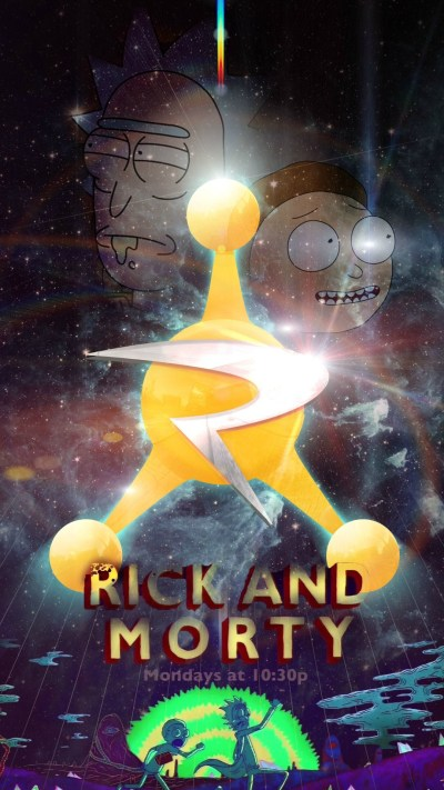 Rick And Morty For iPhone Wallpaper | 2019 3D iPhone Wallpaper