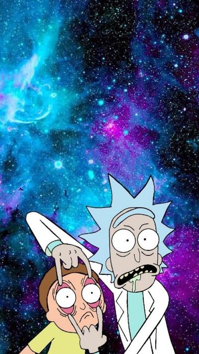 Rick And Morty Phone Wallpaper   2019 3D iPhone Wallpaper