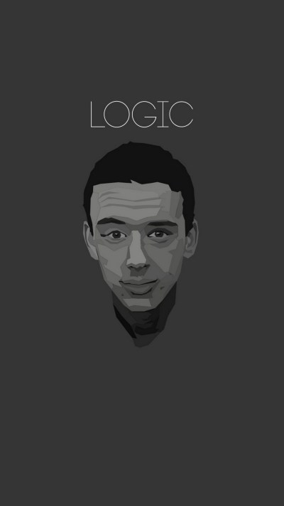 Download Wallpaper Logic Rapper iPhone Full Size - 3D iPhone Wallpaper