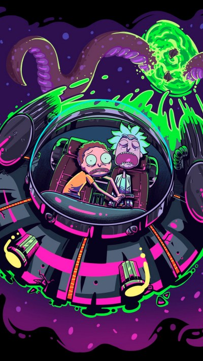 Wallpaper Rick And Morty iPhone Background | 2019 3D iPhone Wallpaper
