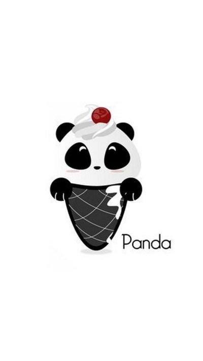 2018 Download Cute Panda Drawing iPhone Wallpaper Full Size - 3D iPhone Wallpaper