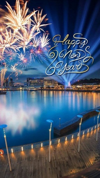 Download iPhone Wallpaper Happy New Year 2018 Full Size ...