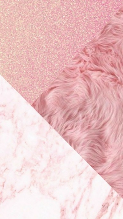 Wallpaper iPhone Rose Gold Glitter | 2019 3D iPhone Wallpaper