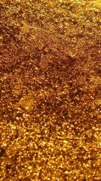 iPhone X Wallpaper Gold Glitter | 2019 3D iPhone Wallpaper