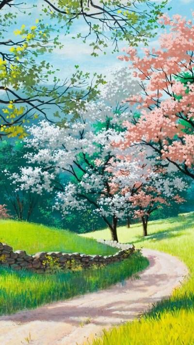 Beautiful Spring Wallpaper For iPhone | 2019 3D iPhone Wallpaper