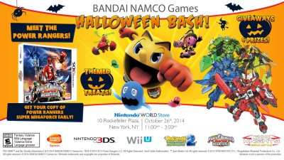 BANDAI NAMCO Entertainment America • We're having a Bandai Namco Games PRE-HALLOWEEN...