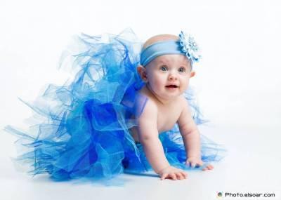 baby blue wallpaper HD