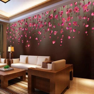 Living Room Designer Wallpaper at Rs 100 /square feet | Living Room Wallpapers | ID: 15947900148