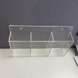 Acrylic Brochure Holder Manufacturers  Suppliers   Dealers in     Acrylic Brochure Holder
