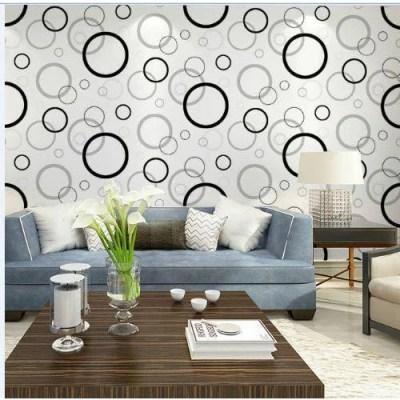 Vinyl Living Room Wallpaper, Shape: Horizontal, Rs 45 /square feet | ID: 16894121033