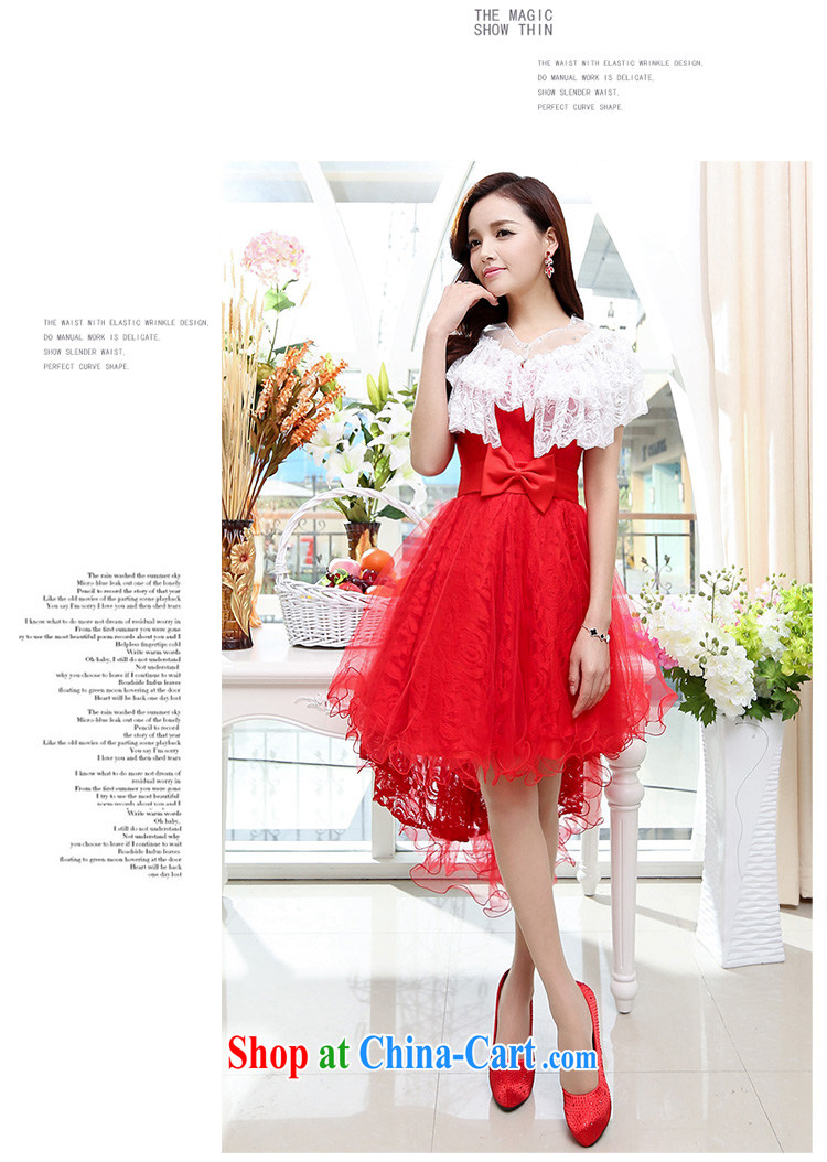 d name brand wedding dresses Cover Story new erase chest dovetail the waist beauty marriage small dress bride with bridal