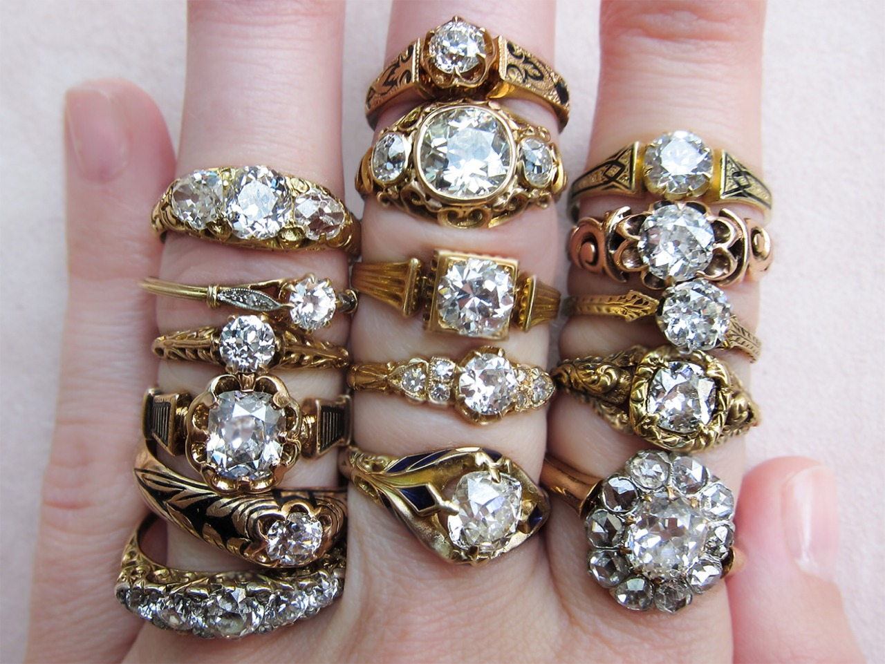 victorian engagement rings victorian wedding rings Antique Victorian engagement rings