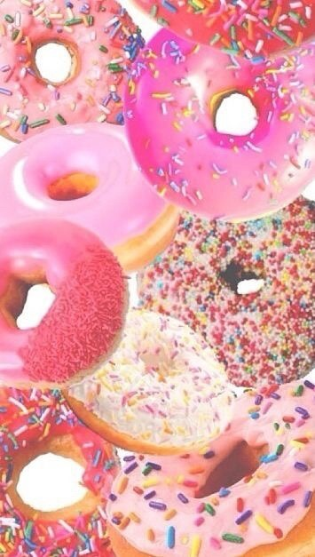 donuts background | Tumblr