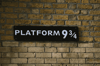 platform 9 and 3 quarters on Tumblr