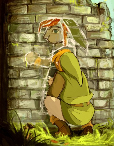 Just linking some Link fanart from Link ⊟ The art... - Tiny Cartridge 3DS - Nintendo Switch, 3DS ...