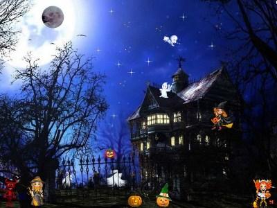 Happy Halloween Screensaver : celebrate Happy Halloween with your children!