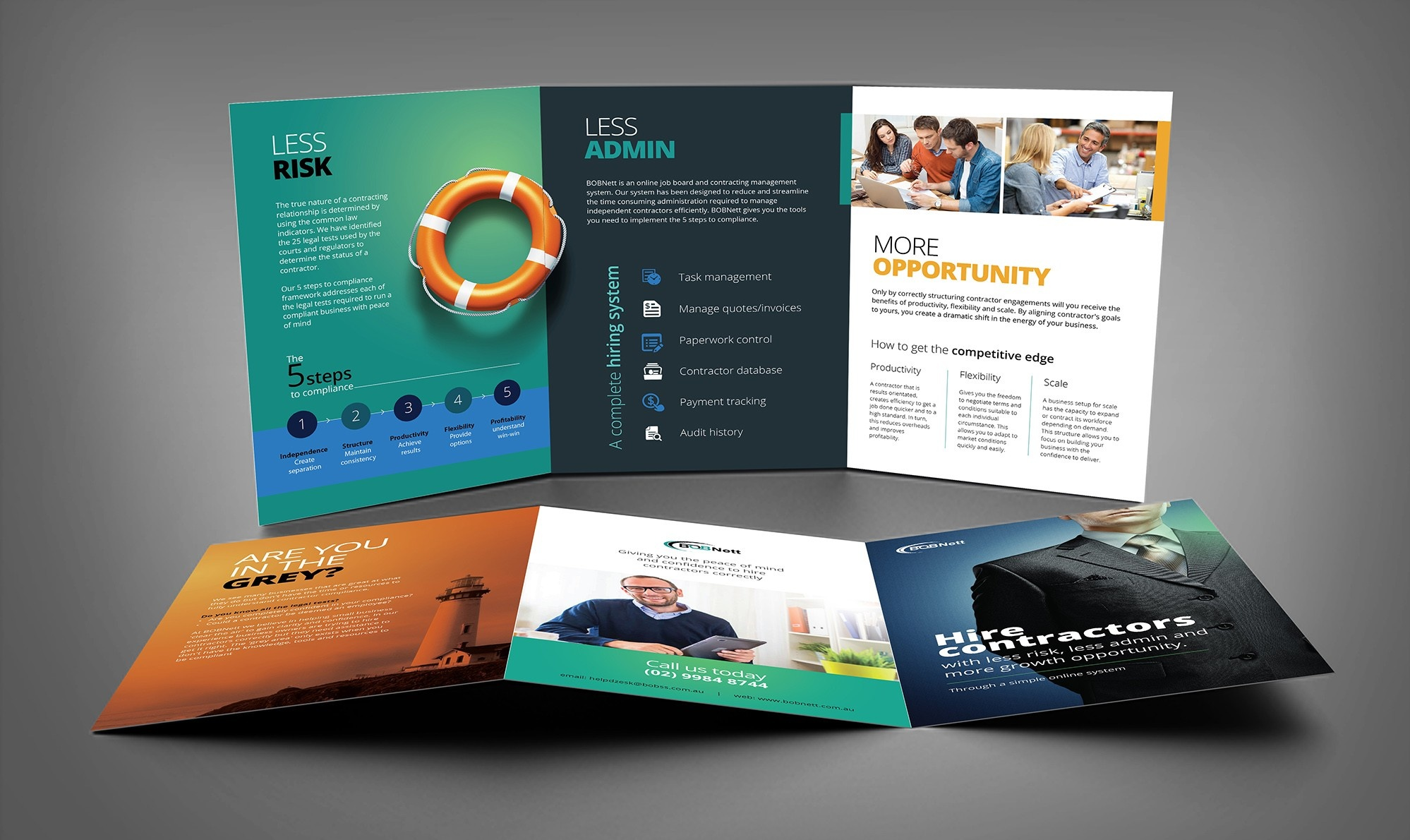 How to design a brochure  the ultimate guide   99designs bright and professional brochure design