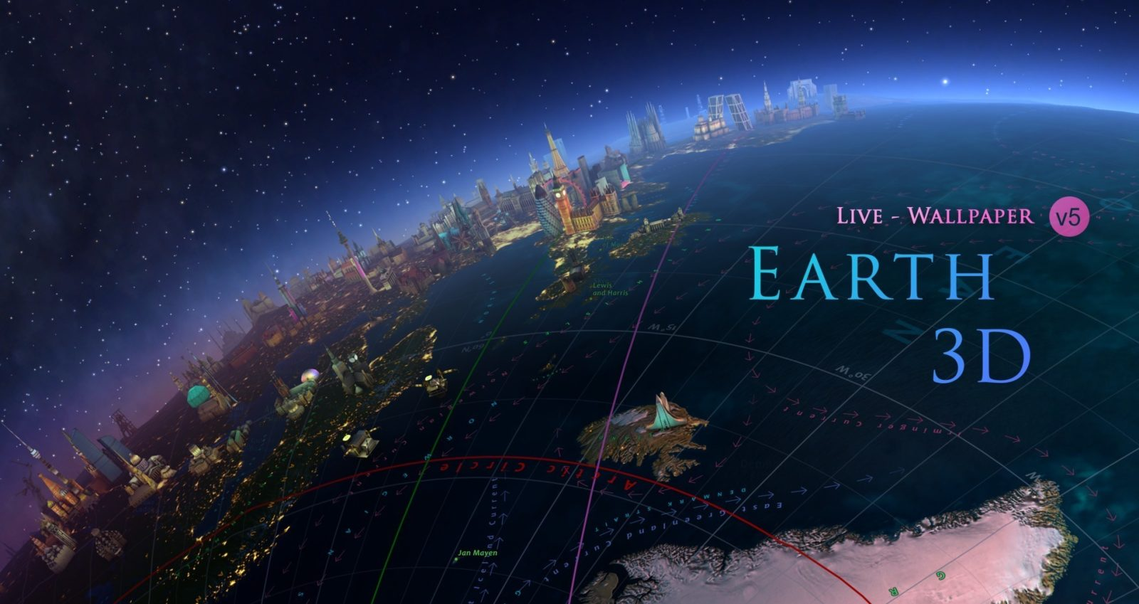 Live wallpaper app Earth 3D for Mac has now dropped down to just $1 (Reg. $3) - 9to5Toys
