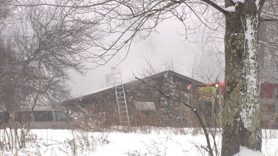 WENY News - Home is Complete Loss After Loop Road Fire Rekindles