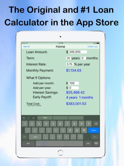 Loan Calculator — What If? on the App Store