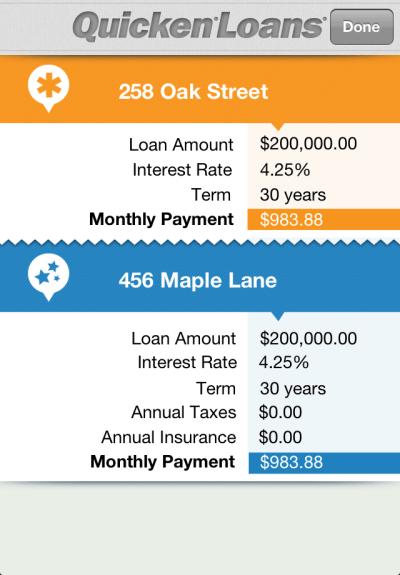 loan calculator quicken