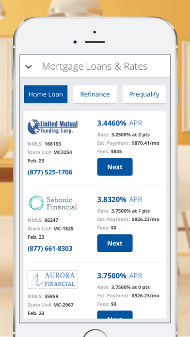 Download Mortgage - Payment Calculator, Interest Rates and Home Loans iOS Apps - 4102467 | mobile9