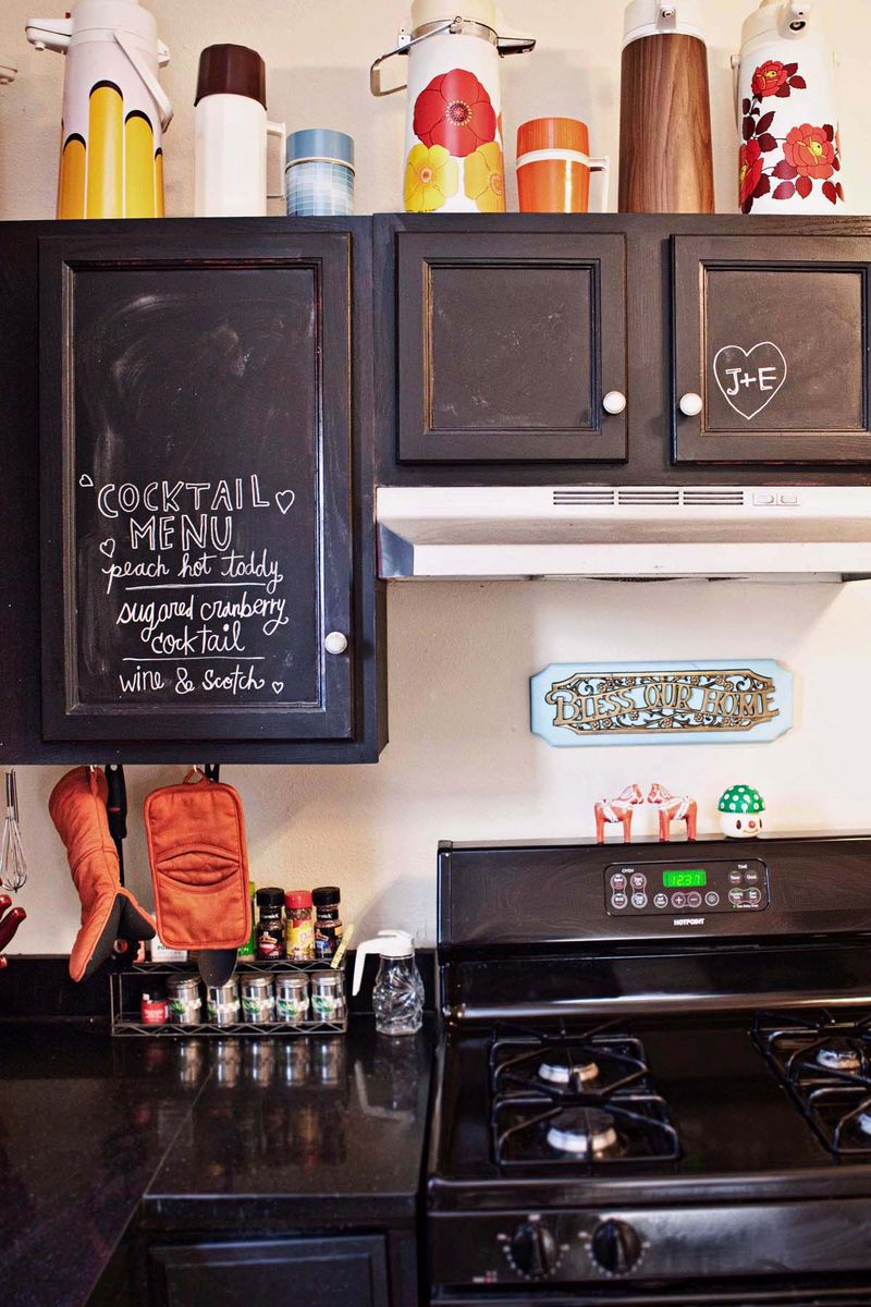 home tour our kitchen chalk paint kitchen cabinets Kitchen 1 Kitchen 2 Kitchen 3