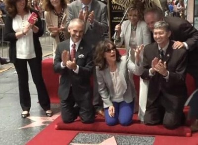 News video: Sally Field Gets Star on Walk of Fame