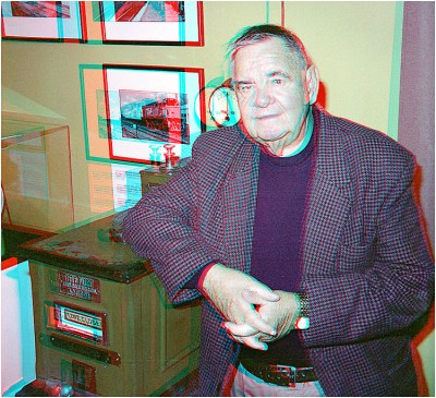 Merv Smith 100 Years Down The Track. (ACB) 3-D Anaglyph Gallery