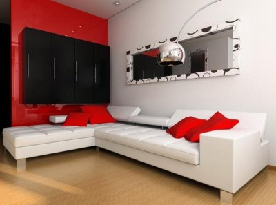 Red Living Room Design Ideas – Adorable Home