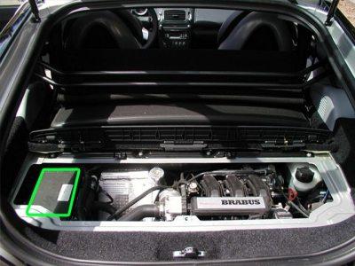 SMART Roadster Car Battery Location