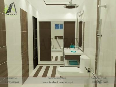washroom designs | Aenzay Interiors & Architecture