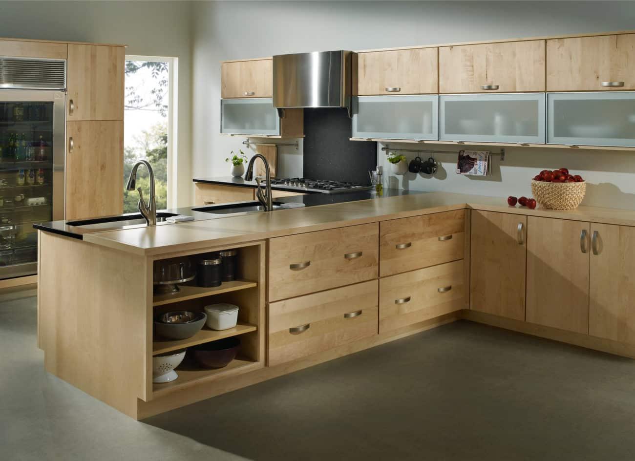 light wood kitchen cabinets light kitchen cabinets Light Wood Kitchen Cabinets