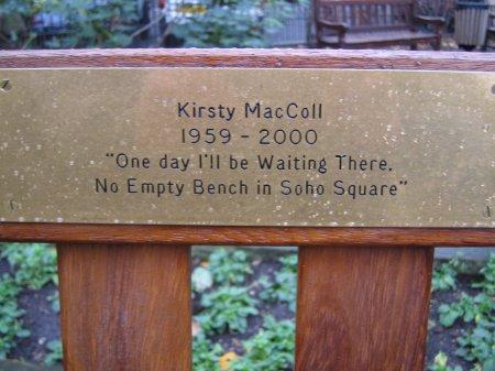Maccoll Bench
