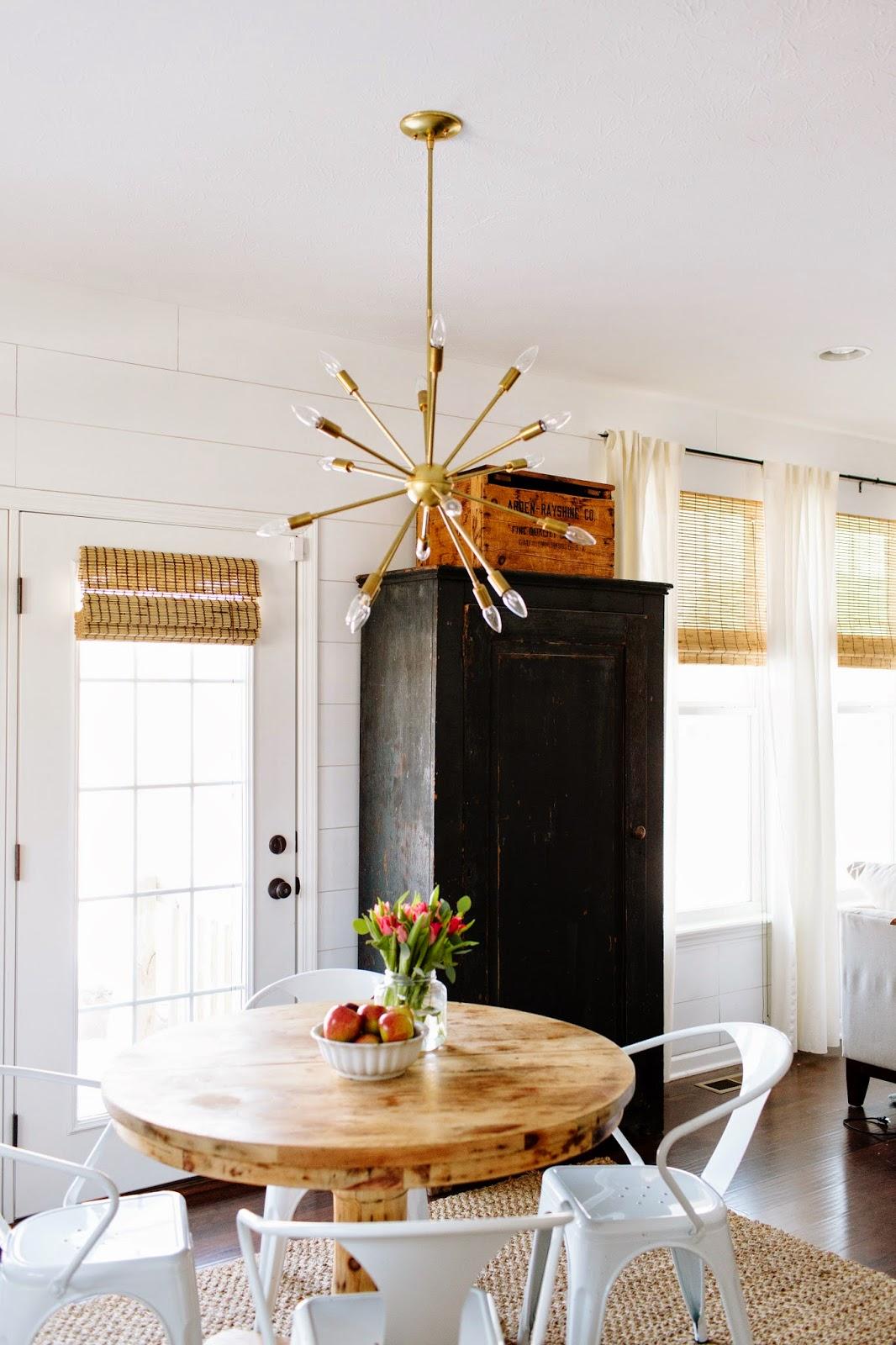 dining room inspiration sputnik chandeliers kitchen table chandelier Sputnik chandelier over a kitchen table