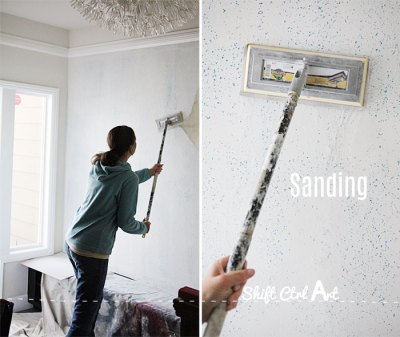 How to prep a textured wall for wallpaper